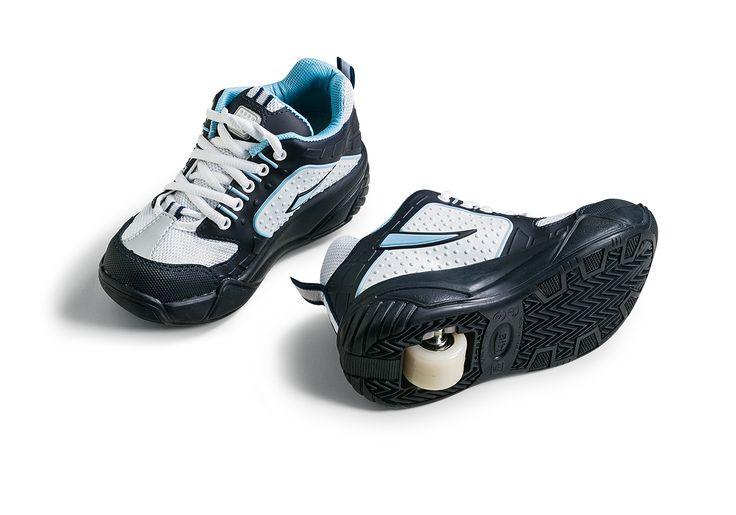 Perigo nos tênis de rodinha