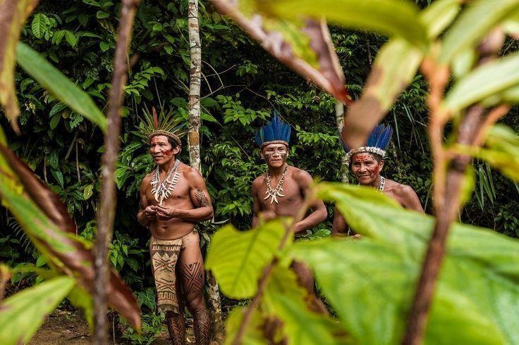 Fotografías de Indígenas del Amazonas de Colombia, Ecuador, Perú, Venezuela y Brasil @alvarodabril