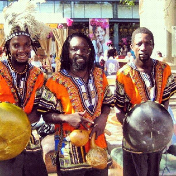 moyo uShaka Mbira players (from Zim)