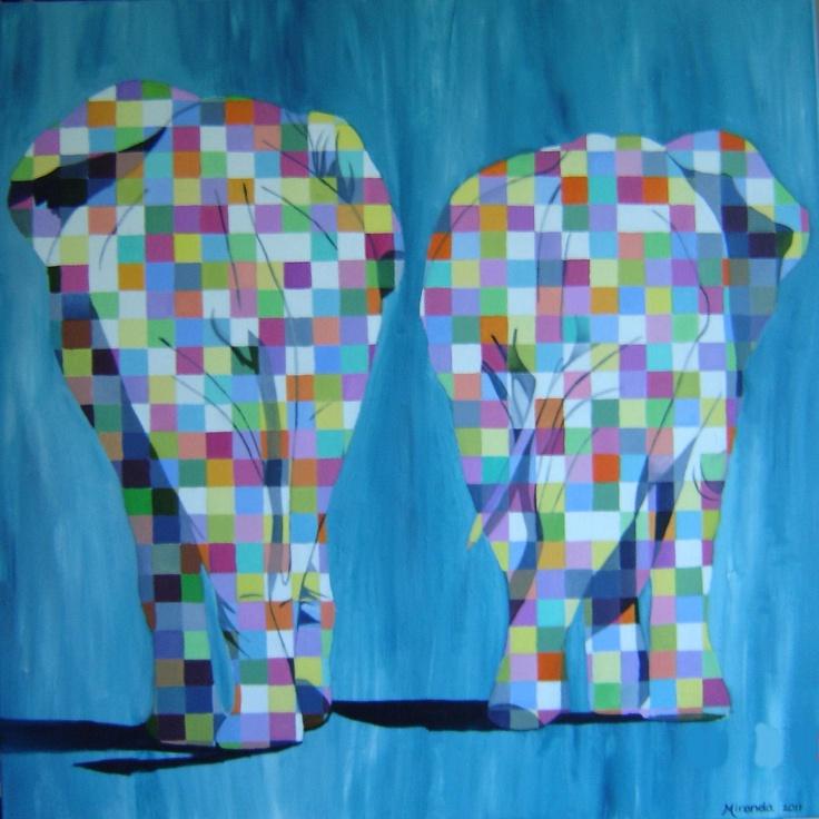 Kleurige olifanten (2011)
