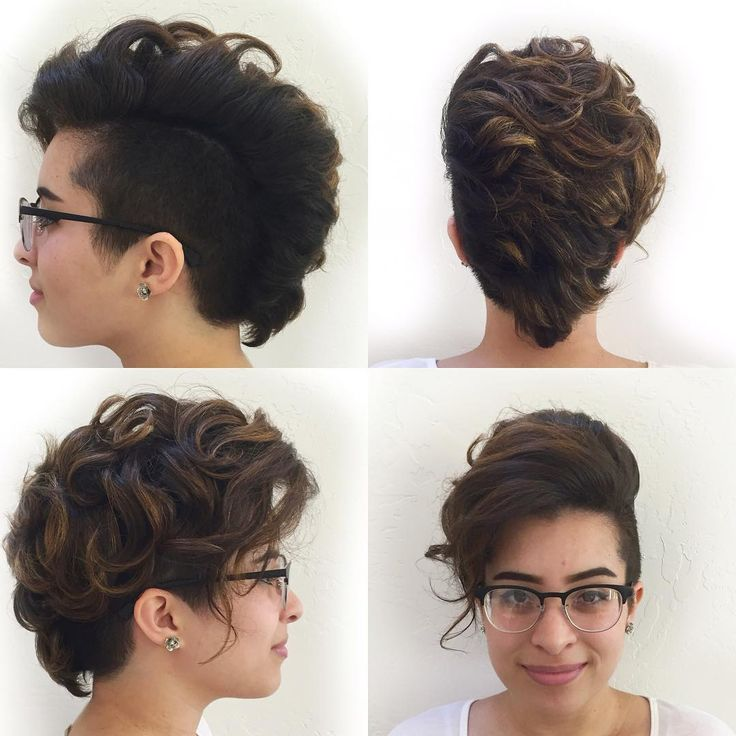 35 Stunning Curly Mohawk Hairstyles — Cuteness and Boldness