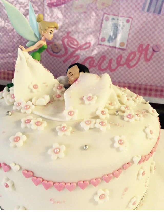 My first ever made cake for a baby shower By:3sagroom