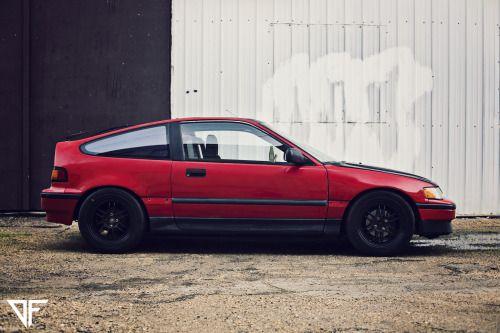 automotivated:   Breslyn Jacobuss Honda CRX by @Dustin...
