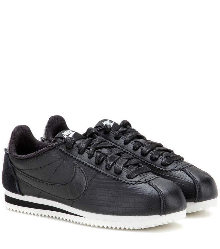 NIKE Nike Classic Cortez Leather Sneakers. #nike #shoes #sneakers