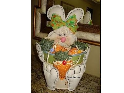 Molde de coelho no baldinho: Rabbit, For Handmade, Moldes Coelho, Moldings Para, Costura Moldes, Molds, Photo, Crafts Ems, Easter Ideas