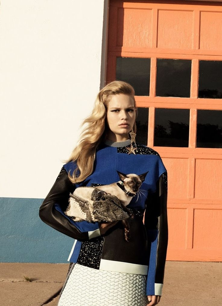 Anna Ewers by Craig Mcdean for Vogue China October 2014