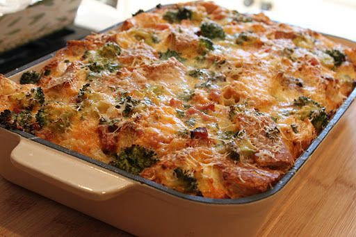 Holiday Breakfast or Brunch Idea: Emeril Lagasse's Breakfast Casserole (Recipe) - Jolly Mom