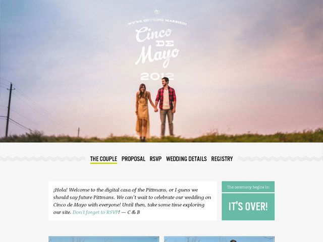 16 best Wedding web design images on Pinterest