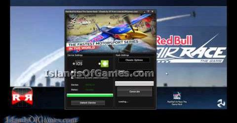 Get this amazing tool so that you can achieve unlimited coins, gold and unlock all items on red bull air race