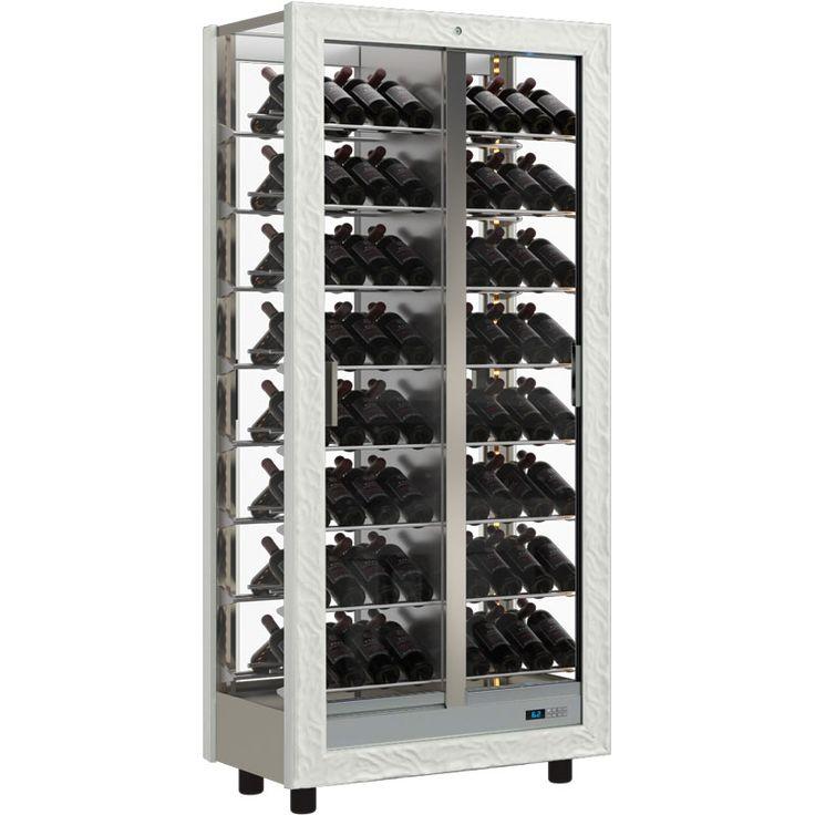 New Black Wine Rack Cabinet