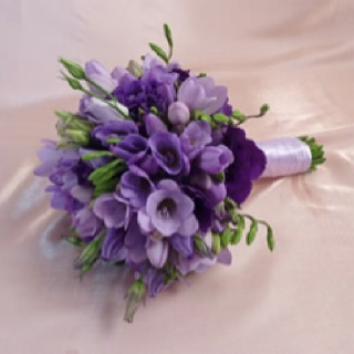 Purple freesia and lisianthus bouquet: Bridal Bouquets, Wedding Ideas, Wedding Bouquets, Google Search, Wedding Flowers
