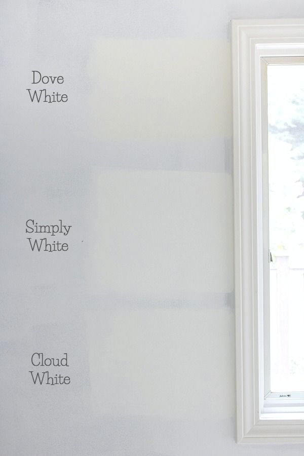 New Dove White Paint