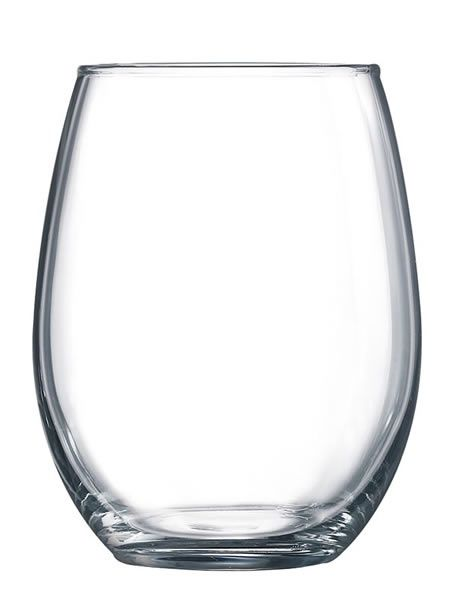 15 oz Stemless Glasses -  Stemless wine glasses offer a modern, minimal approach to glassware. Perfect for parties, weddings, picnics and more, engrave these glasses to remember your special day. Total etching area 2.5 x 2.5 7.80 net each.