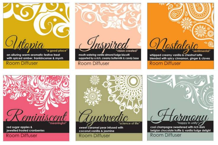 6 x Label designs. Designed by Tea House Creative Marketing www.teahousemarketing.biz