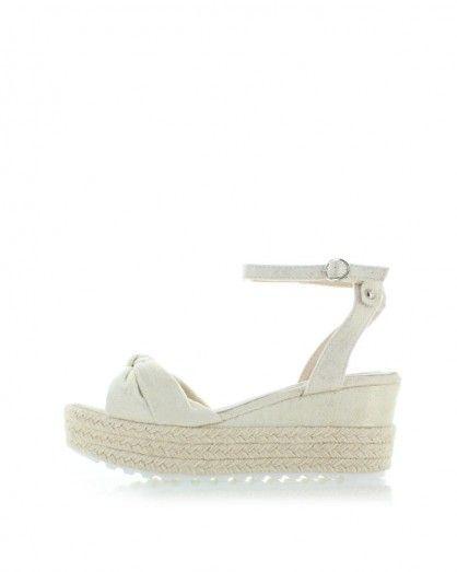 Béžové platformové sandály Erline