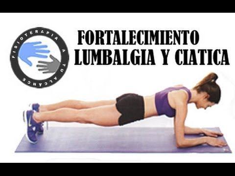 ▶ Lumbalgia y ciática, como fortalecer el abdomen para prevenir el dolor / Fisioterapia a tu alcance - YouTube