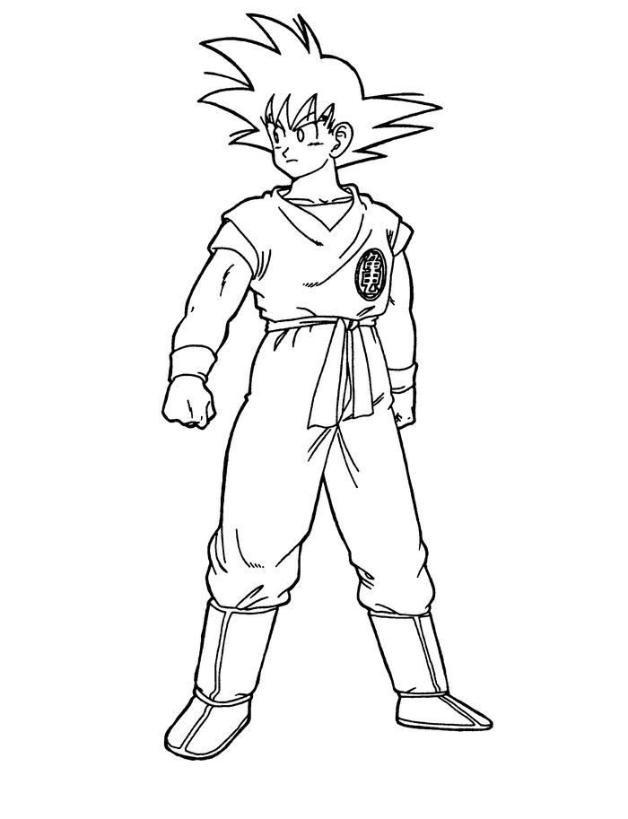 goku ssj god from goku coloring pages