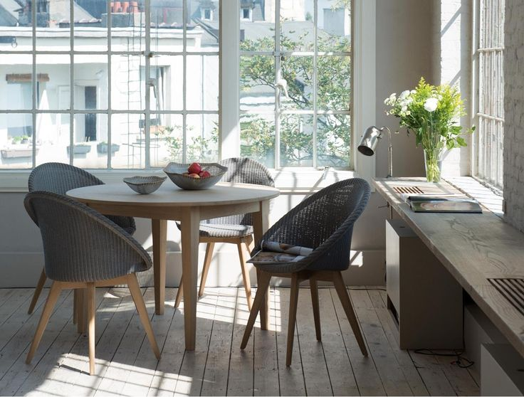 Best Kitchen Diner Images On Pinterest Dining Chairs Dining - Chantilly distressed dining table by little tree furniture