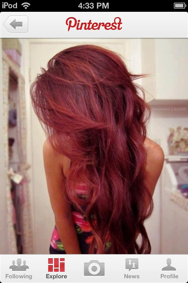 Awesome Loreal Red Hair Dye For Dark Hair Only What Volume