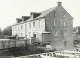 McLachlin's Grist Mill, 1903.  Later to become Baird's Restaurant, it burnt down in 1975. Arnprior, Ontario.