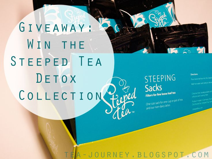 Giveaway: Win the Steeped Tea Detox Collection ~ Tea Journey