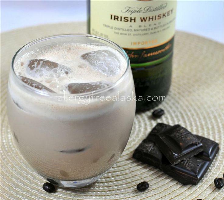 Dairy-Free Irish Cream Liqueur! Plus, it's #glutenfree (of course), #refinedsugarfree, #vegan, and easy to make