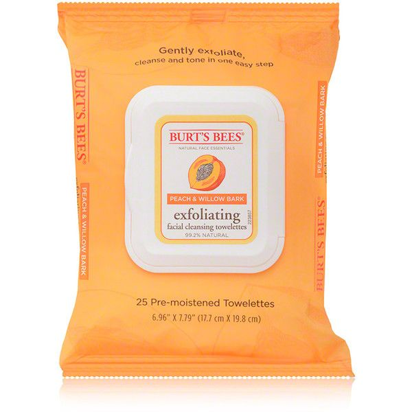 Burt's Bees Burt's Bees Exfoliating Facial Cleansing Towelettes -... ($5.99) ❤ liked on Polyvore featuring beauty products, skincare, face care, face cleansers, fillers, beauty, makeup, simple set fillers, burts bees facial cleanser and exfoliating face wash