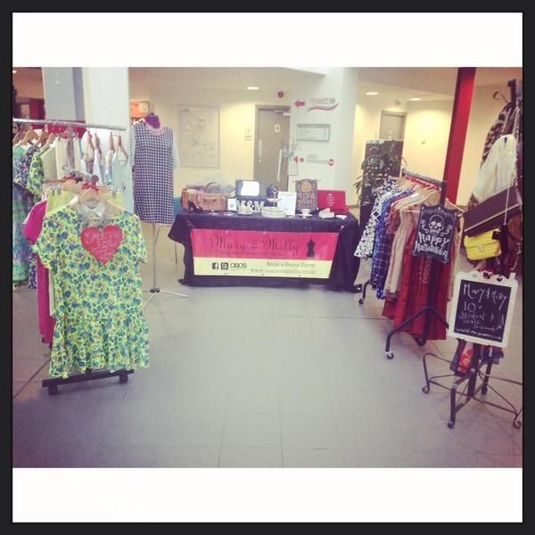 Monday's pop up shop at UCLAn! Get ready for Halloween in style today in the SU...