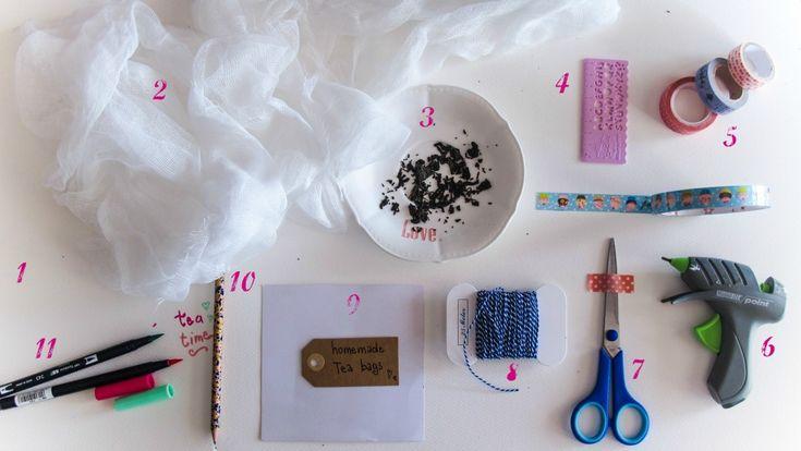 materiale tea bags