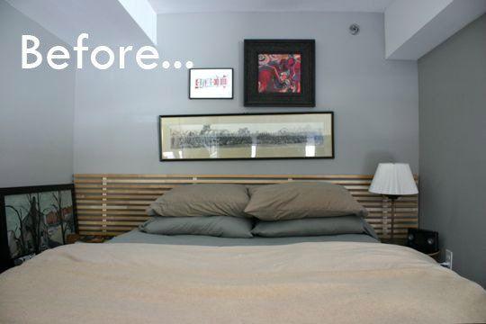 Before & After: Mike Murphy's IKEA Headboard Redo