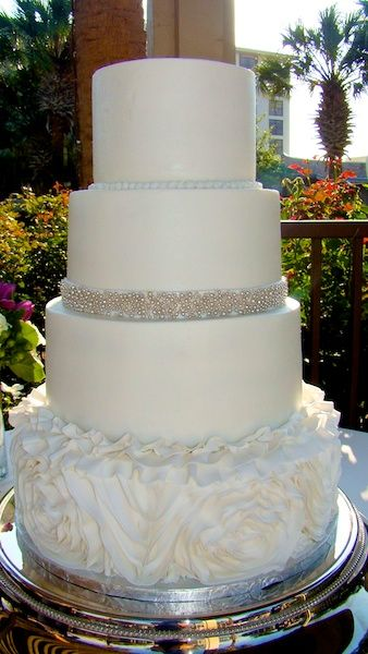 17 Best Images About Smooth Buttercream Wedding Cakes On
