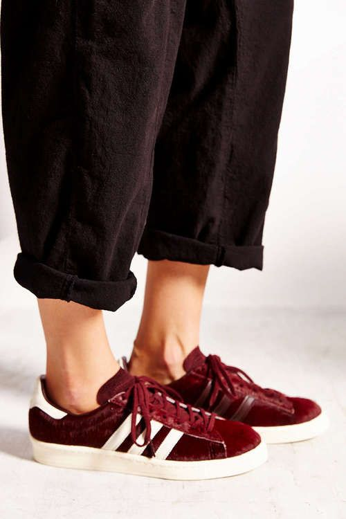 adidas campus shoes maroon