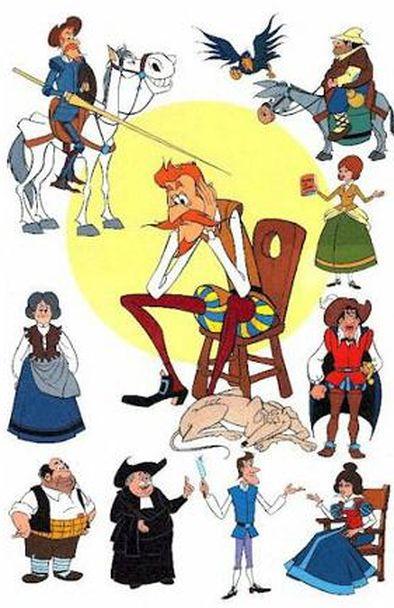 Cervantes y Don Quijote de La Mancha | Personajes