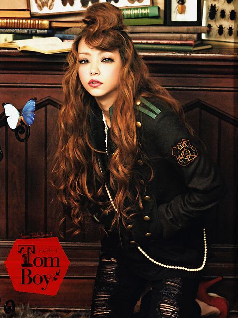 amuro namie, photoshoot for blenda magazine