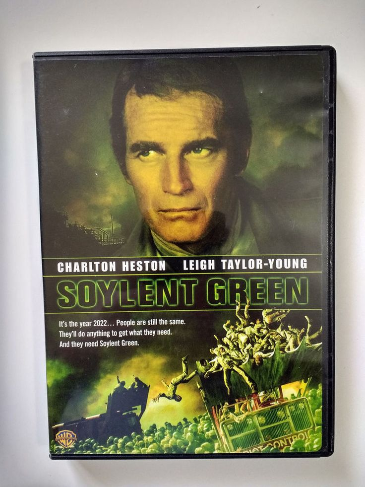 Soylent Green Charlton Heston Leigh-Taylor Young 1973 Wide-Screen DVD #WarnerBros
