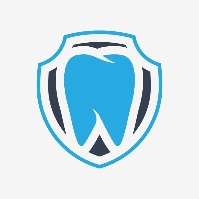 Dental Care Logo Tooth In Shield Vector Teeth Protection Illustration Dental Logo Dental Logo Dentists Dentist Logo