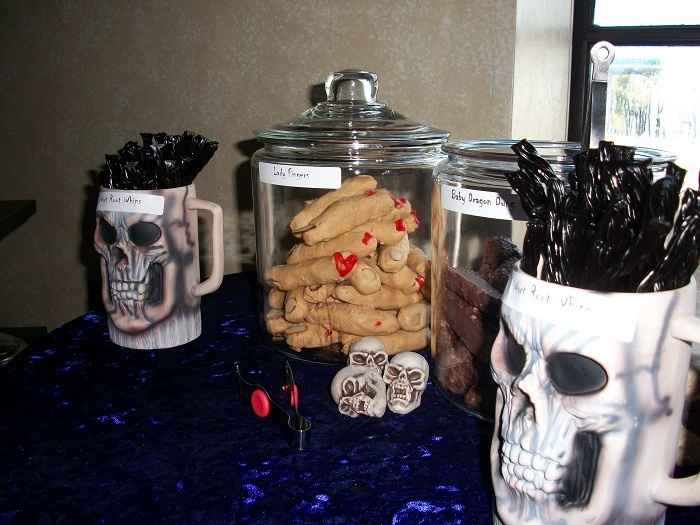 snack foods for halloween party