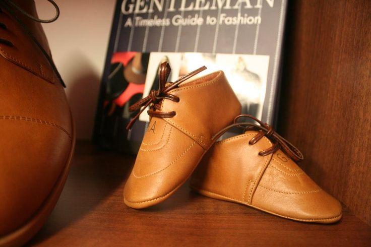 Junior Derby Vitello Leather Custom-Made by Alexandru Pop