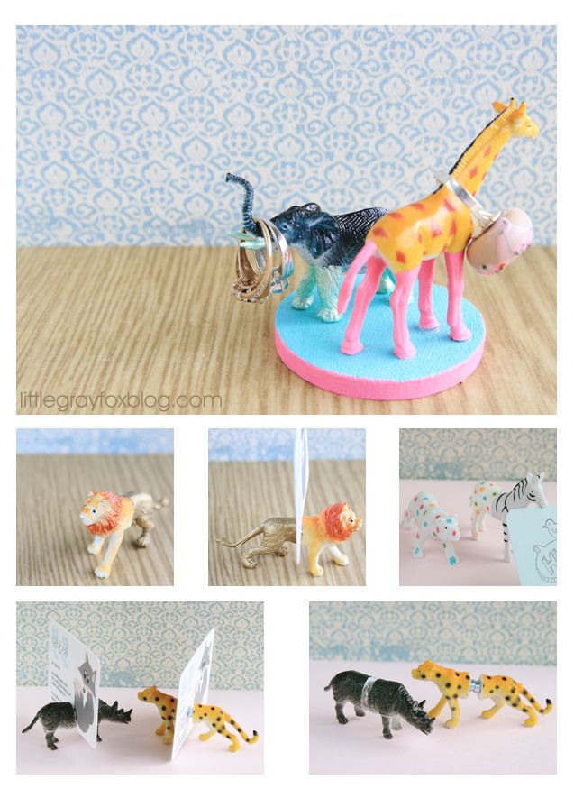 Plastic Animal Crafts. I like some of these ideas @Samantha Hall, maybe not the color choices for you. :)