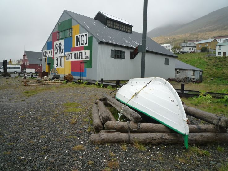Iceland, Heringmuseum and boat