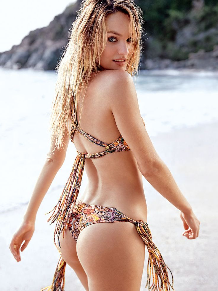 Candice Swanepoel. A stunningly perfect body.