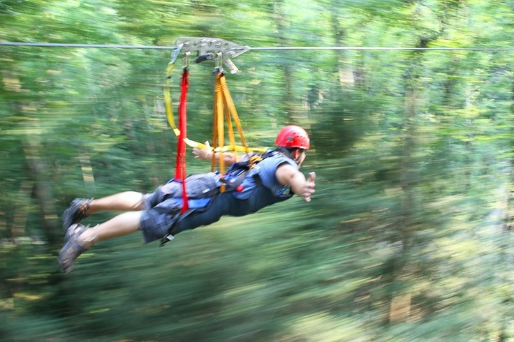 Hocking Hills Canopy Tours, SuperZip Photogallery, Ohio Zipline