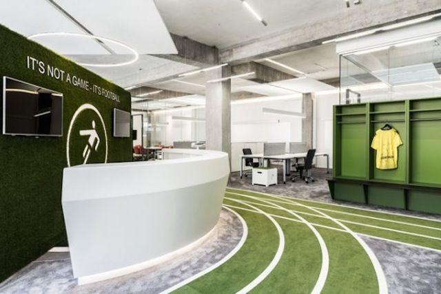 Inside One Football Office – Fubiz™