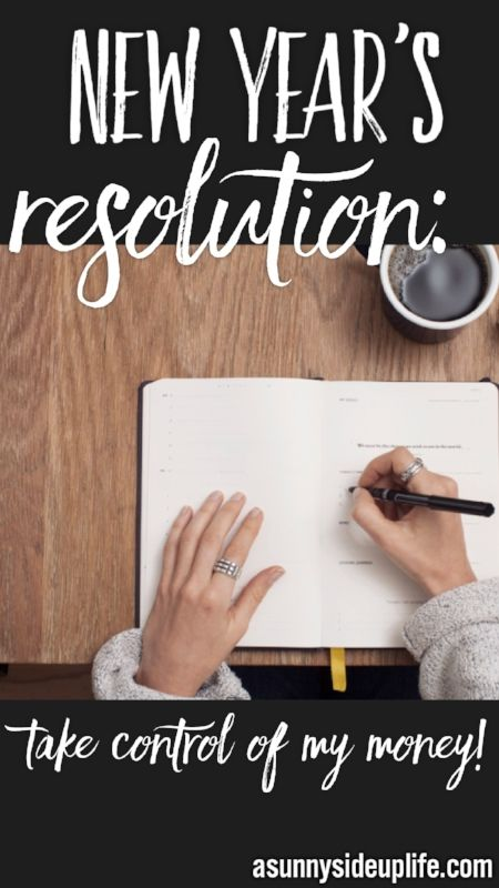 My New Year's Resolution! Budgeting | New Year's budget | beginner budget | where to start with a budget | how to create a budget | budgeting basics | how to start a budget | take control of my money | new year's resolution ideas | financial new years resolutions