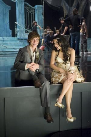 Gabriella Montez and Troy Bolton- High School Musical 3: Senior Year