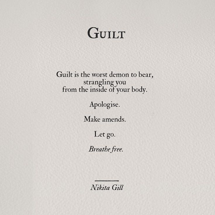 let go of guilt ~~ (My poetry book available for preorder from yoursoulisariver.com. #poetry