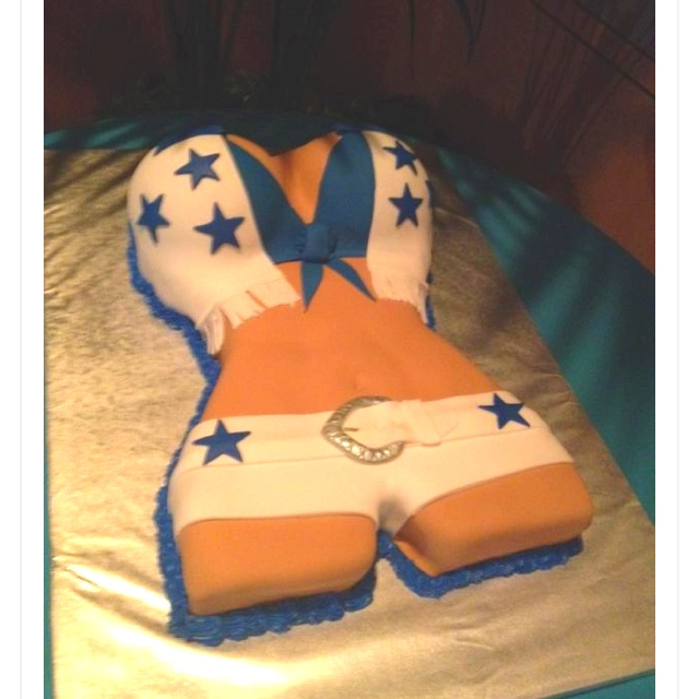Dallas Cowboys Th Birthday Cake