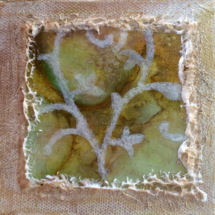 Marbelling with Alcohol Inks By Sandi Macaulay