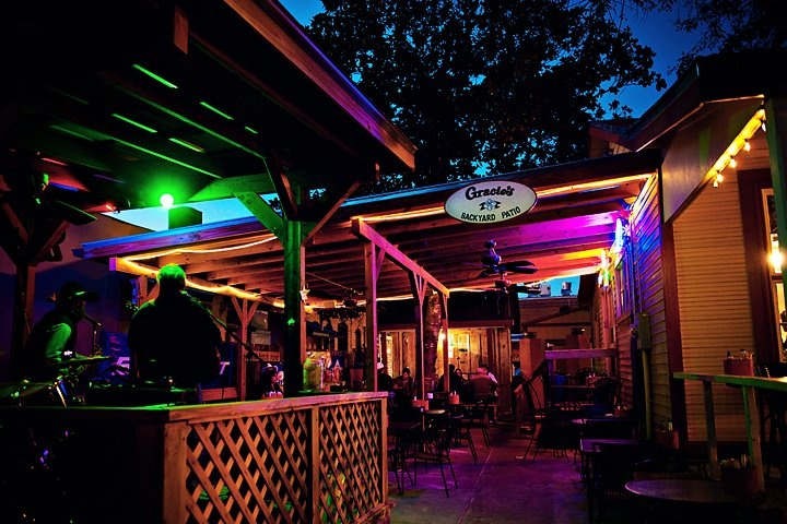 Gracie's in Bastrop, TX features delicious home cooking and an outdoor patio with live music. #Bastrop #Texas