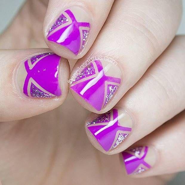 اجمل صور مناكير الموضه احمر و ابيض و نبيتي 2019 The Most Beautiful Pictures Of Red And White And Maroo Nail Art Tutorial Nail Art Blog Creative Nails